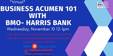 Business Acumen 101 with BMO-Harris Bank tickets