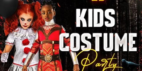 Kids costume party tickets