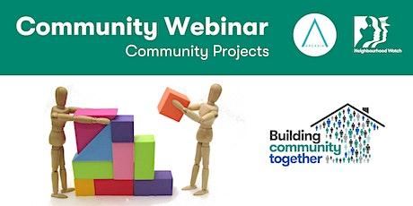 Arcadia Community Webinar: Community Projects tickets