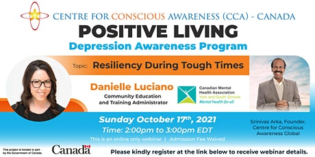 Positive Living - Resiliency During Tough Times tickets