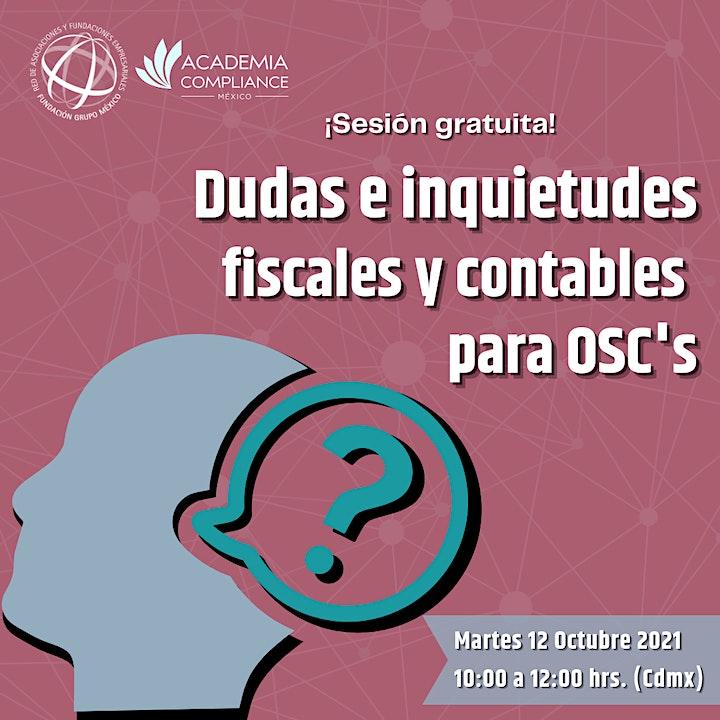 Imagen de Dudas e inquietudes fiscales y contables para OSC