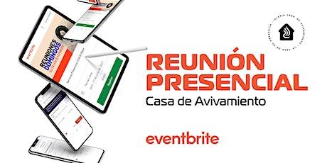Servicio Presencial CDA 1:00pm boletos