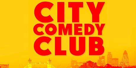 CITY COMEDY CLUB: WEDNESDAY tickets