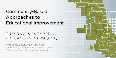 Community-Based Approaches to Educational Improvement tickets
