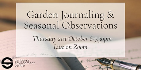 Garden Journaling and Seasonal Observations tickets