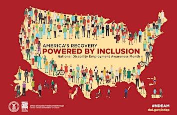 National Disabilities Employment Awareness Month Hiring Events tickets