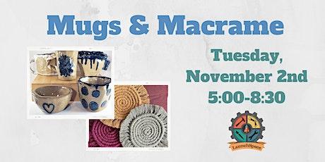 Mugs & Macrame tickets