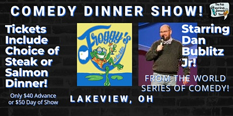 LAKEVIEW, OH | Pub & Grub Comedy with Dan Bublitz! tickets