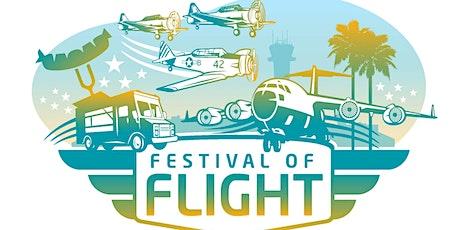Long Beach Airport's 2021 Festival of Flight tickets