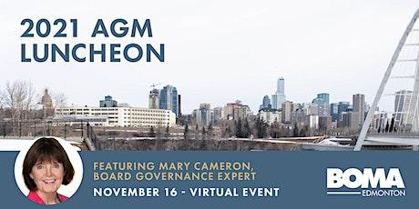 BOMA Edmonton 2021 AGM Luncheon tickets