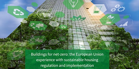 Buildings for net-zero: the European Union experience tickets