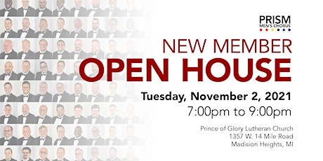 New Member Open House tickets