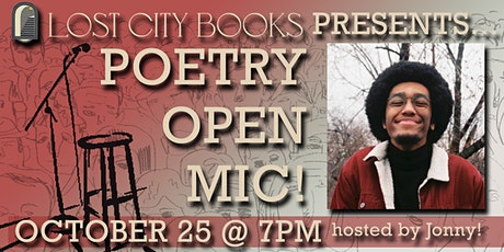 Poetry Open Mic Night at Lost City Books! tickets