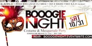 BOOOgie Night Costume & Masquerade Party #DTLA