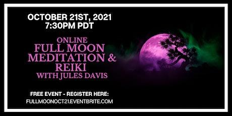Full Moon Meditation with Jules Davis - FREE tickets