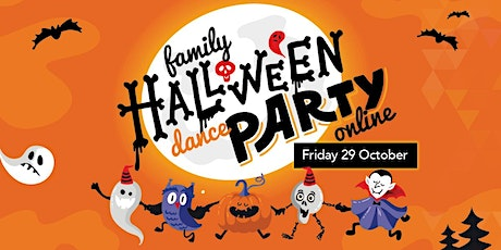 Family Halloween Dance Party Online  - Ages: 5-10 tickets