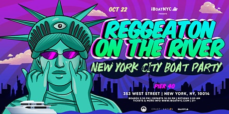Reggaeton on the River: Latin Music Boat Party NYC tickets