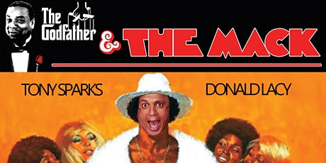 3D Headline Comedy - The Godfather & The Mack! tickets