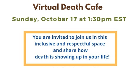 Death Café, hosted by, by One Thread & Death Café, Windsor & Essex County tickets