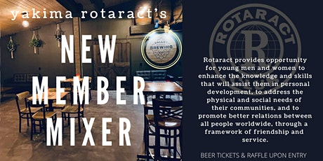 Yakima Rotaract's Annual New Member Mixer tickets