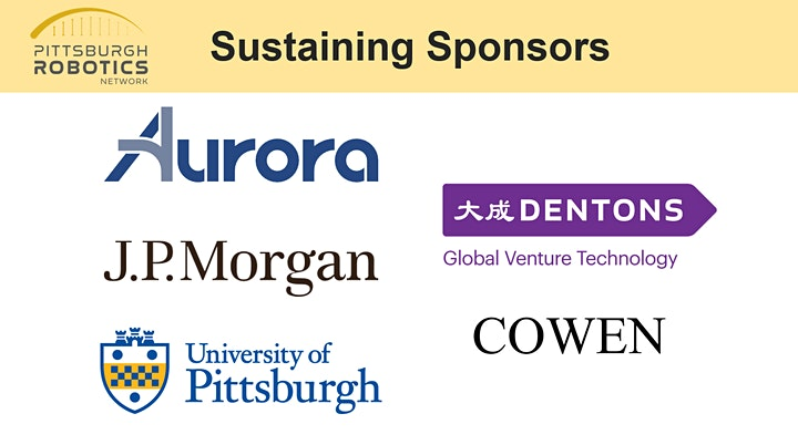 Pittsburgh Robotics Network - 2021 Member Reception Announced image