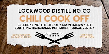 Lockwood Distilling Chili Cook Off: Celebrating Aaron Baerwaldt tickets