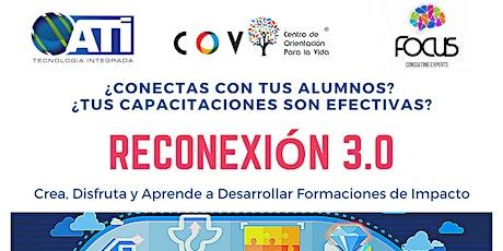 RECONEXIÓN 3.0 - Taller de Gamificación y Storytelling entradas