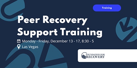 Peer Recovery Support Specialist Training tickets