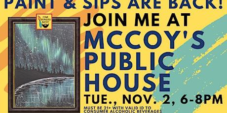 November 2 Paint & Sip at McCoy's Public House - St. Louis Park tickets