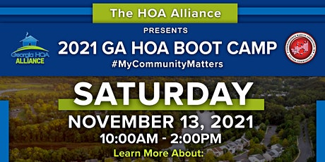 2021 Georgia HOA Boot Camp tickets
