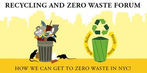 RECYCLING AND ZERO WASTE FORUM