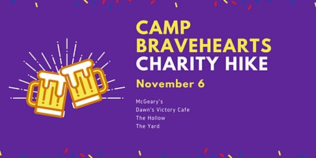 Camp Bravehearts Charity Hike tickets