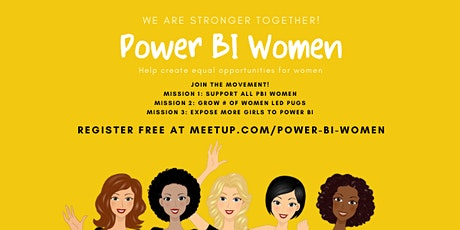 Power BI Women Summit tickets