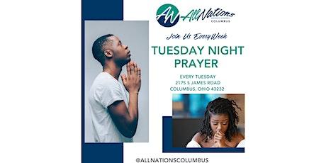 Tuesday Night Prayer tickets