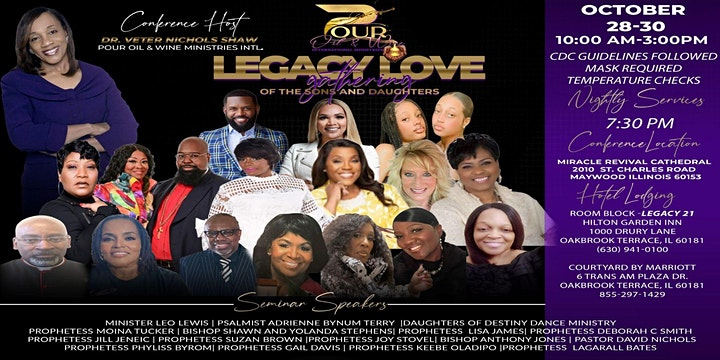 Legacy Love Gathering of The Sons and Daughters image