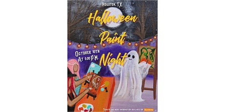 Halloween Paint Night With Nancy D. tickets