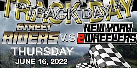 NY2W x Street Riders Track Day tickets