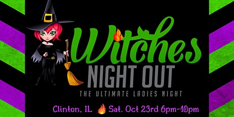 Witches Night Out ~ Clinton tickets