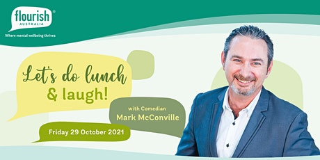 Let's do lunch and laugh with comedian Mark McConville tickets