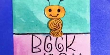 Zentangle®  Book Worm Bookmark tickets
