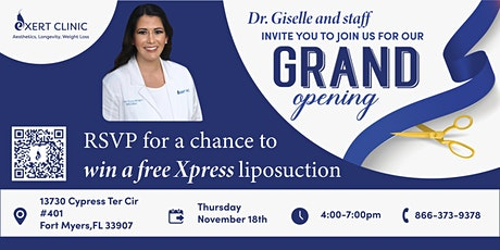 Exert Clinic Grand Opening Party tickets