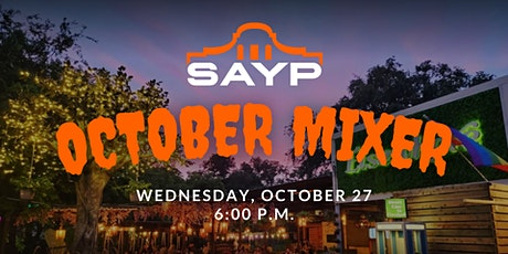 SAYP October Mixer tickets