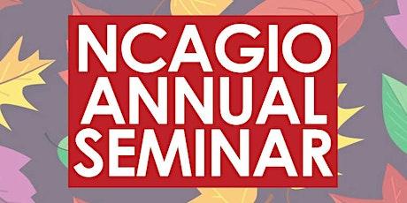 2021 NCAGIO Seminar tickets