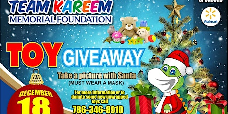 Team Kareem Toy Giveaway Event tickets