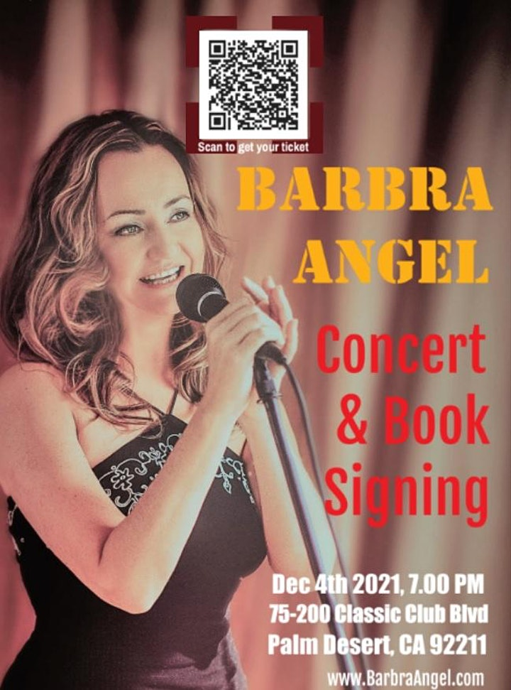 Concert & Book Signing with Barbra Angel image