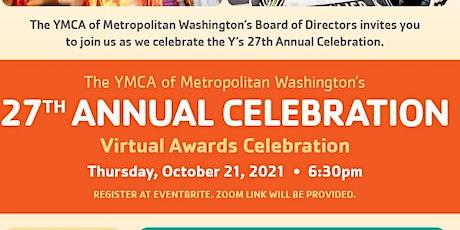 YMCA of Metropolitan Washington's  27th Annual Celebration tickets