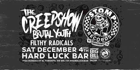 Stomp Records Anniversary w Creepshow, Brutal Yout tickets