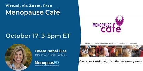 Menopause Cafe- Eat cake, drink tea, and discuss menopause tickets