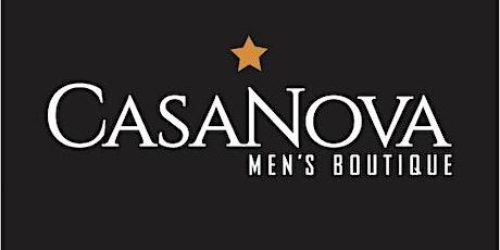 CasaNova Live Fashion Show & Auction benefiting Movember charity tickets