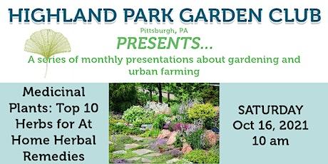 Highland Park Garden Club Presents... Home Herbal Remedies tickets